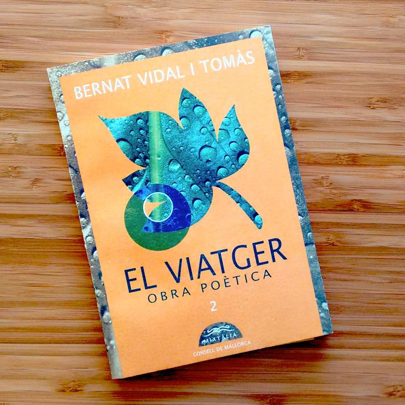 Buch mit Gedichten Bernat Vidal i Tomas