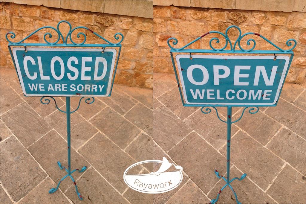 von Closed zu Open Rayaworx