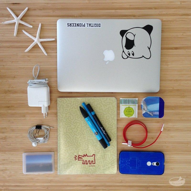 Coworking Gadgets DoSchu Packliste