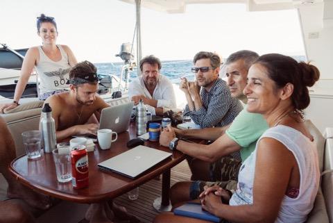 coworker coboat coworking mittelmeer