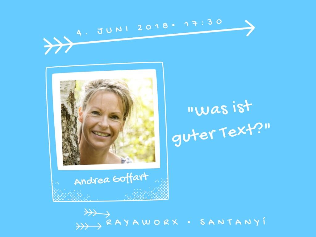 Text Event Andrea Goffart