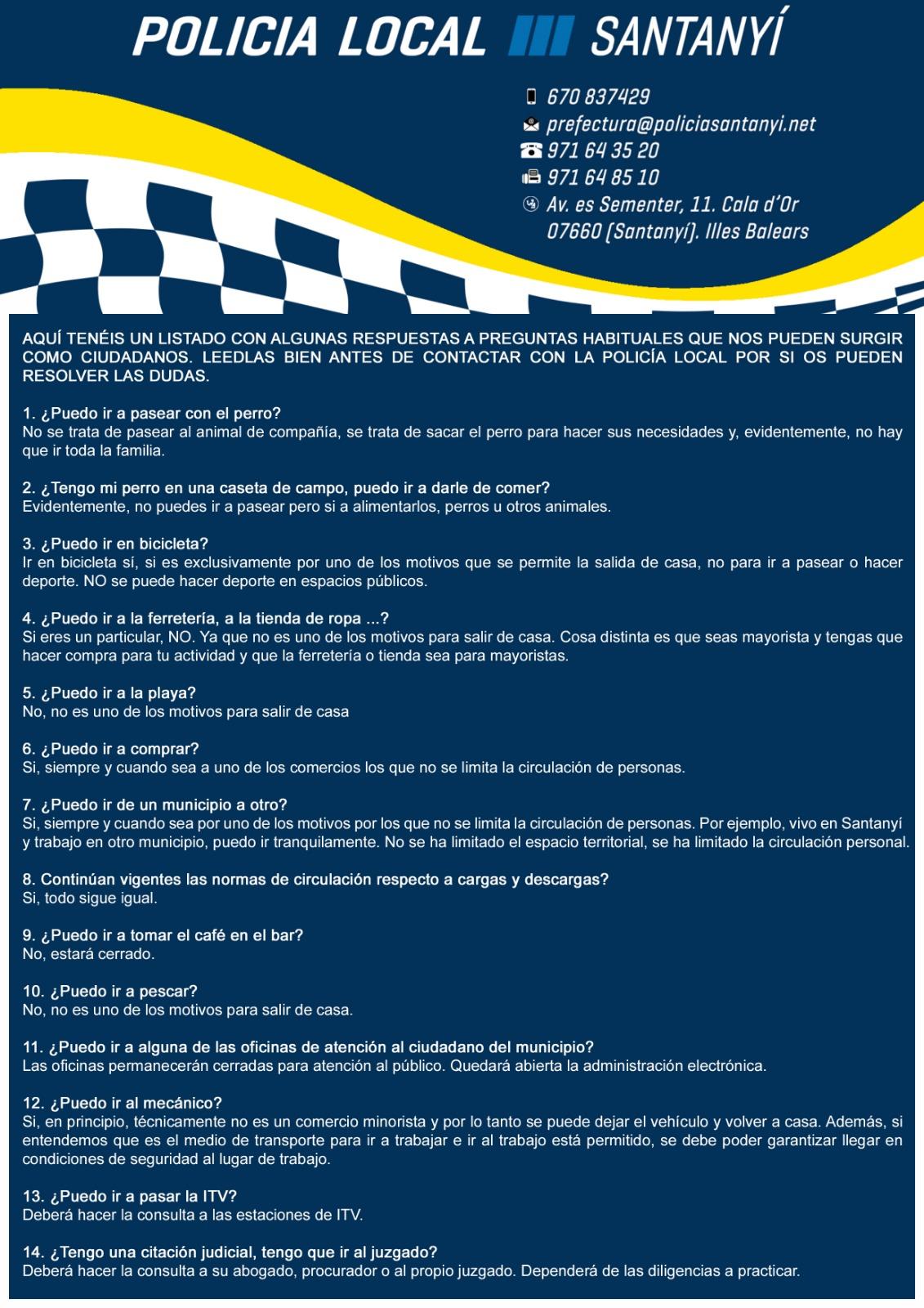 20200315 Ajuntament FAQ Covid Castellano