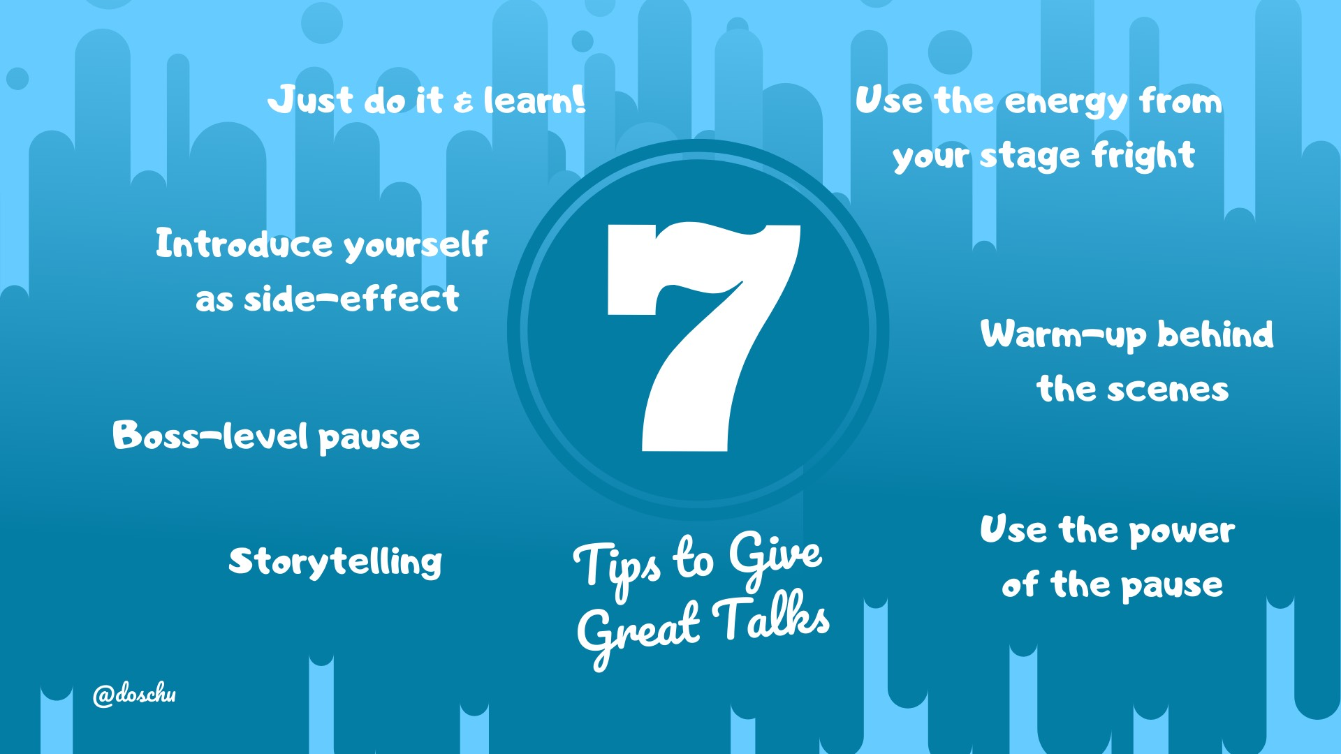 Tips to Give Great Talks