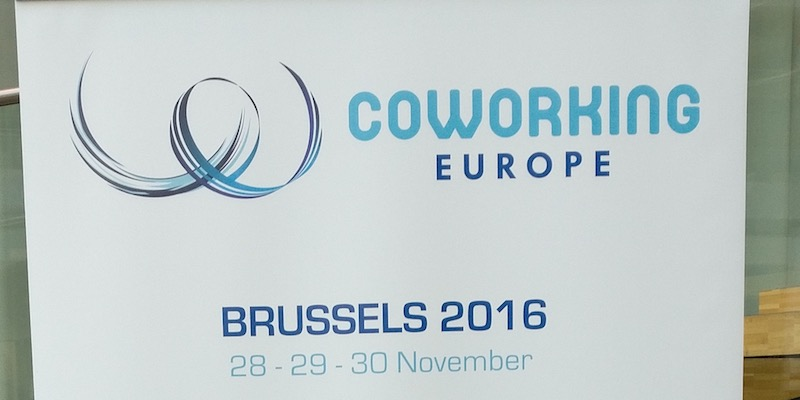 Coworking Europe 2016 Banner