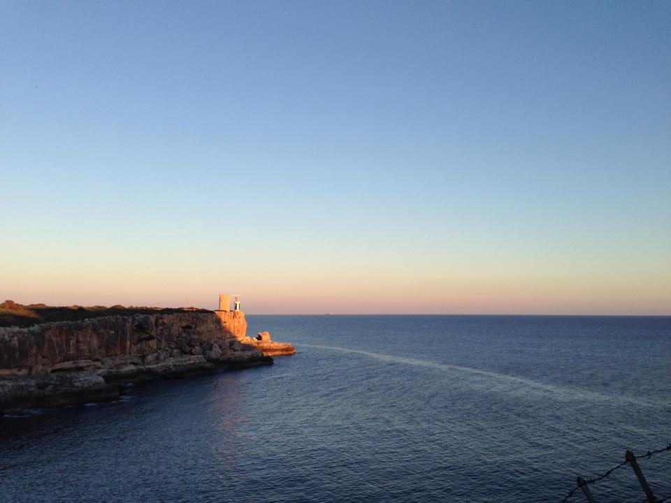 Sunset Meer Cala Figuera