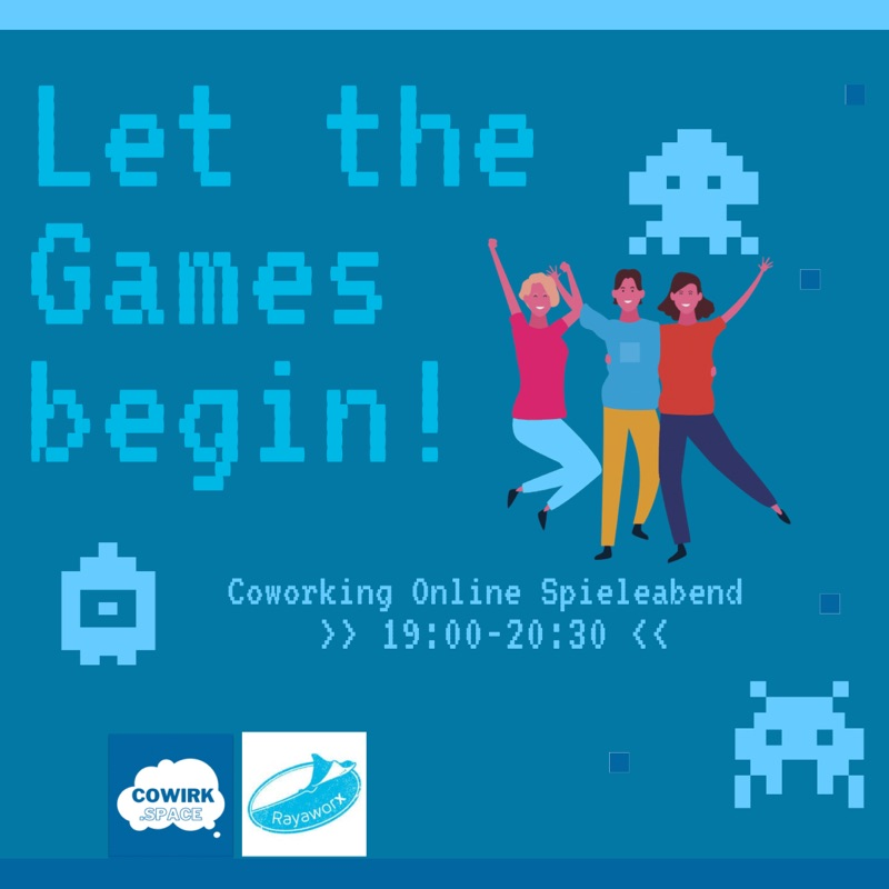 Coworking Online Spieleabend