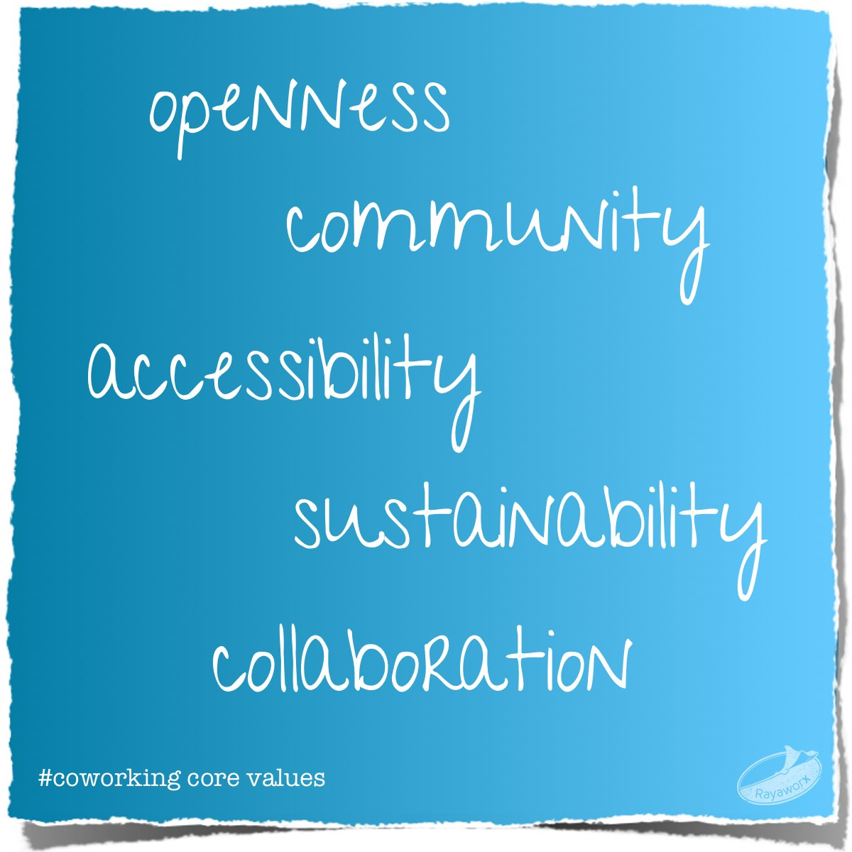 Coworking Core Values