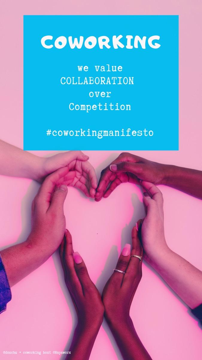 Collaboration • Coworking Manifesto