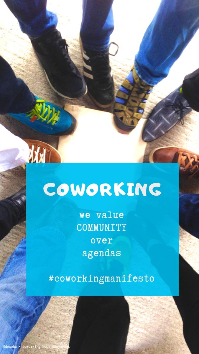 Community • Coworking Manifesto