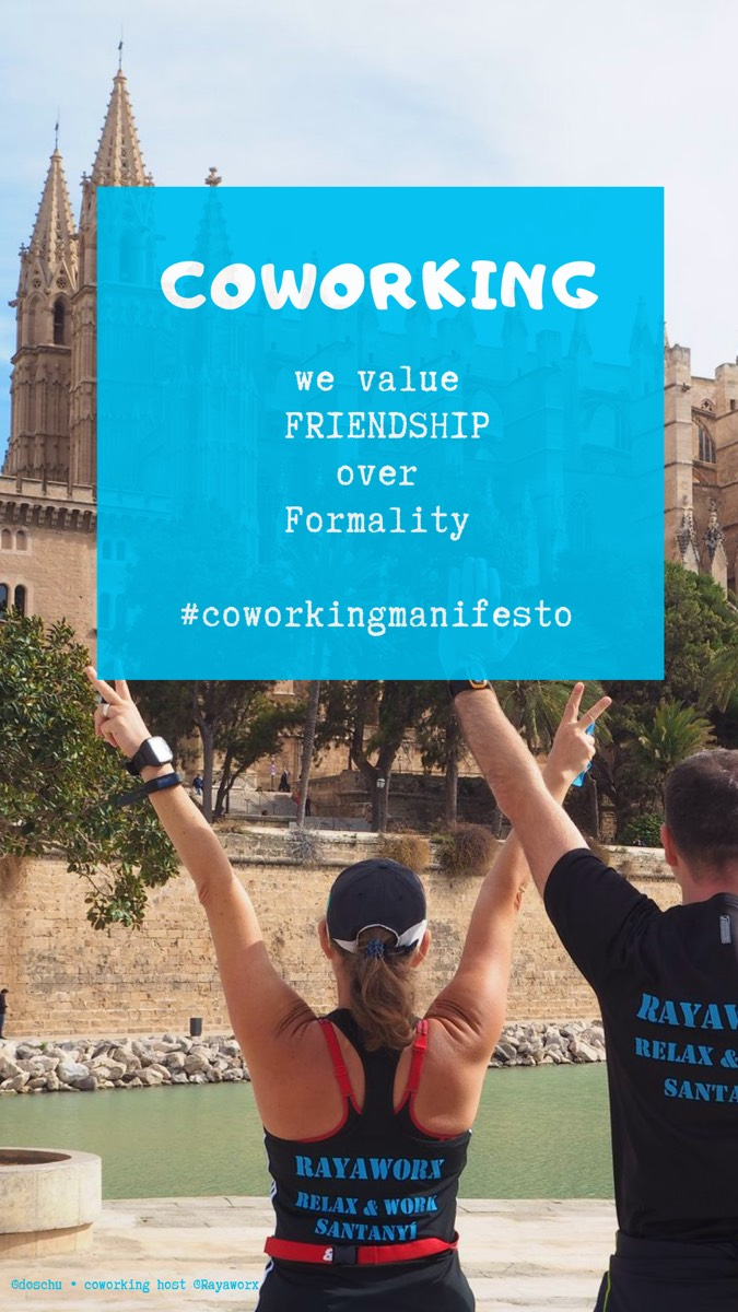 Friendship • Coworking Manifesto