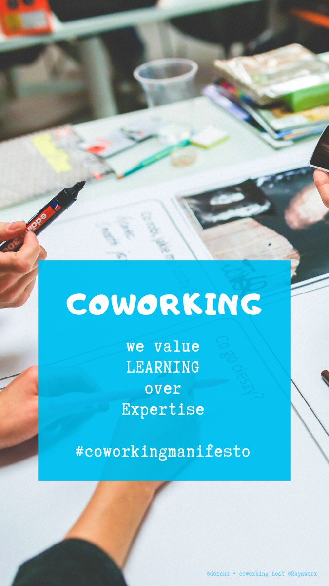 Learning • Coworking Manifesto