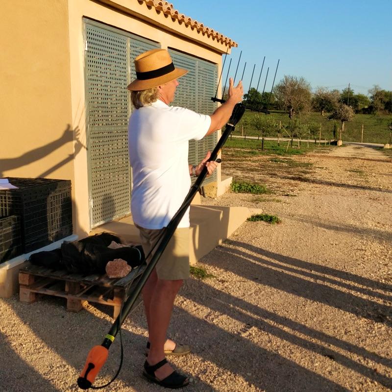 Erntekamm für Olivenbäume