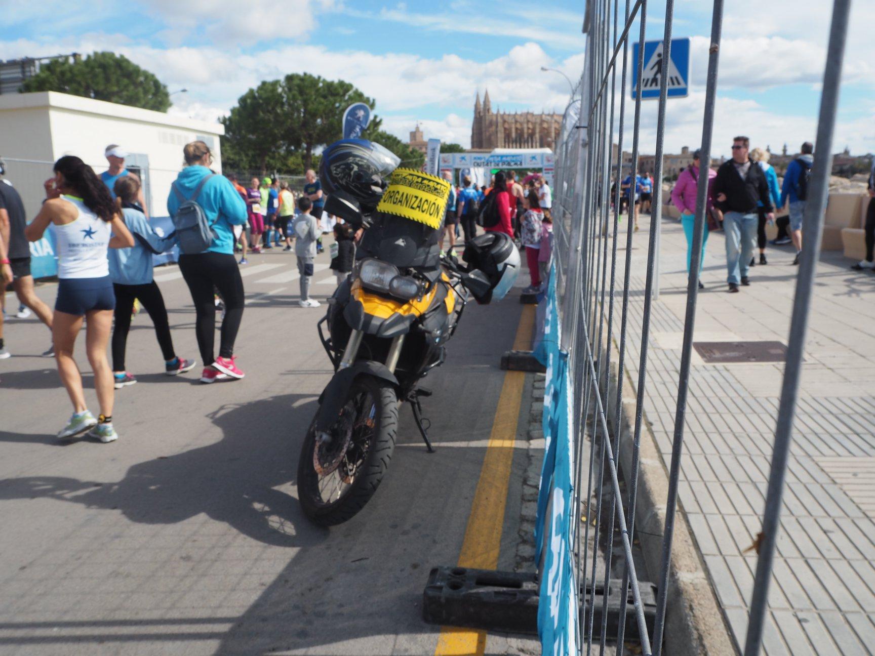 Half Marathon Palma de Mallorca motorcycle
