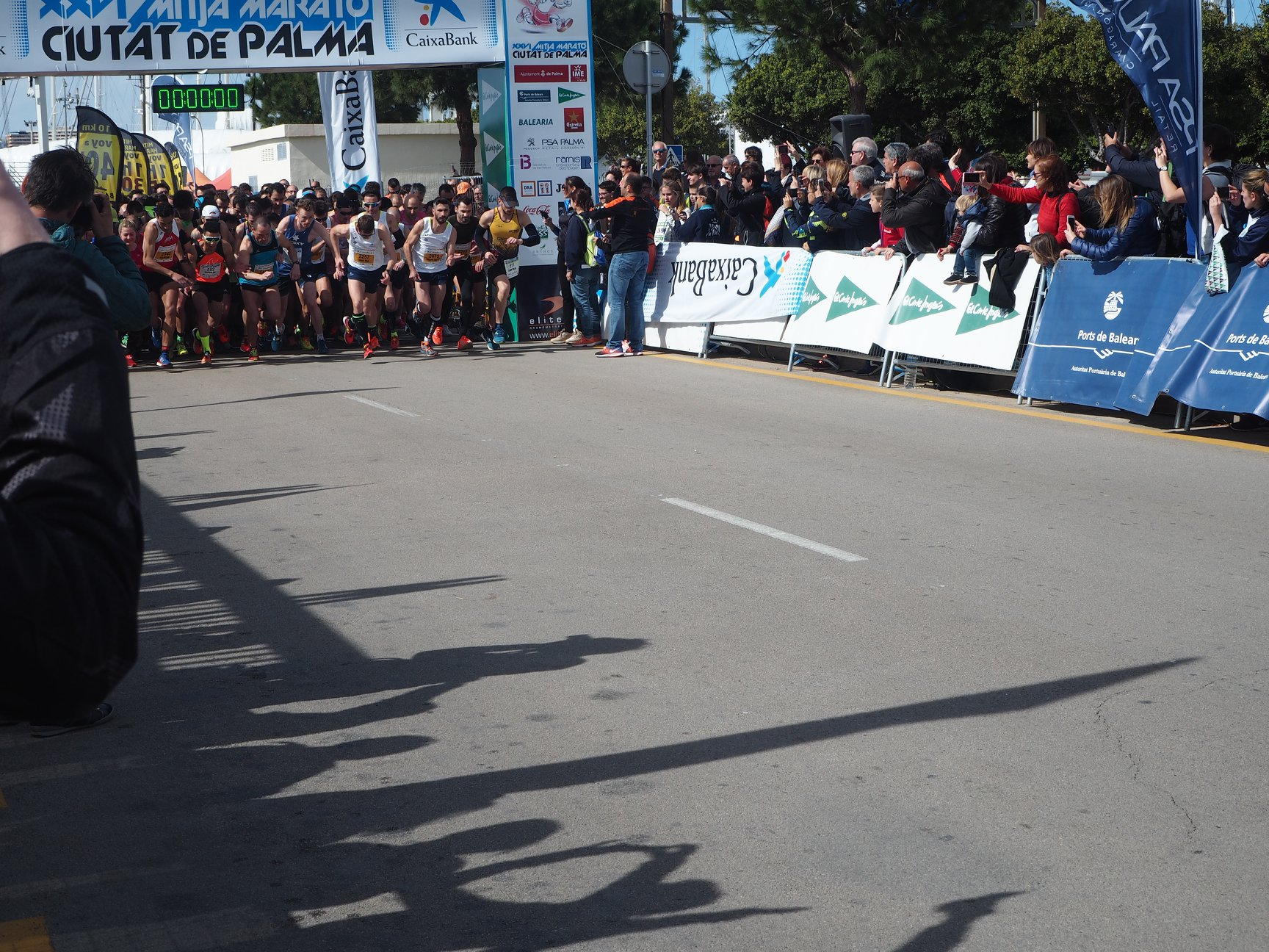 Half Marathon Palma de Mallorca: Start