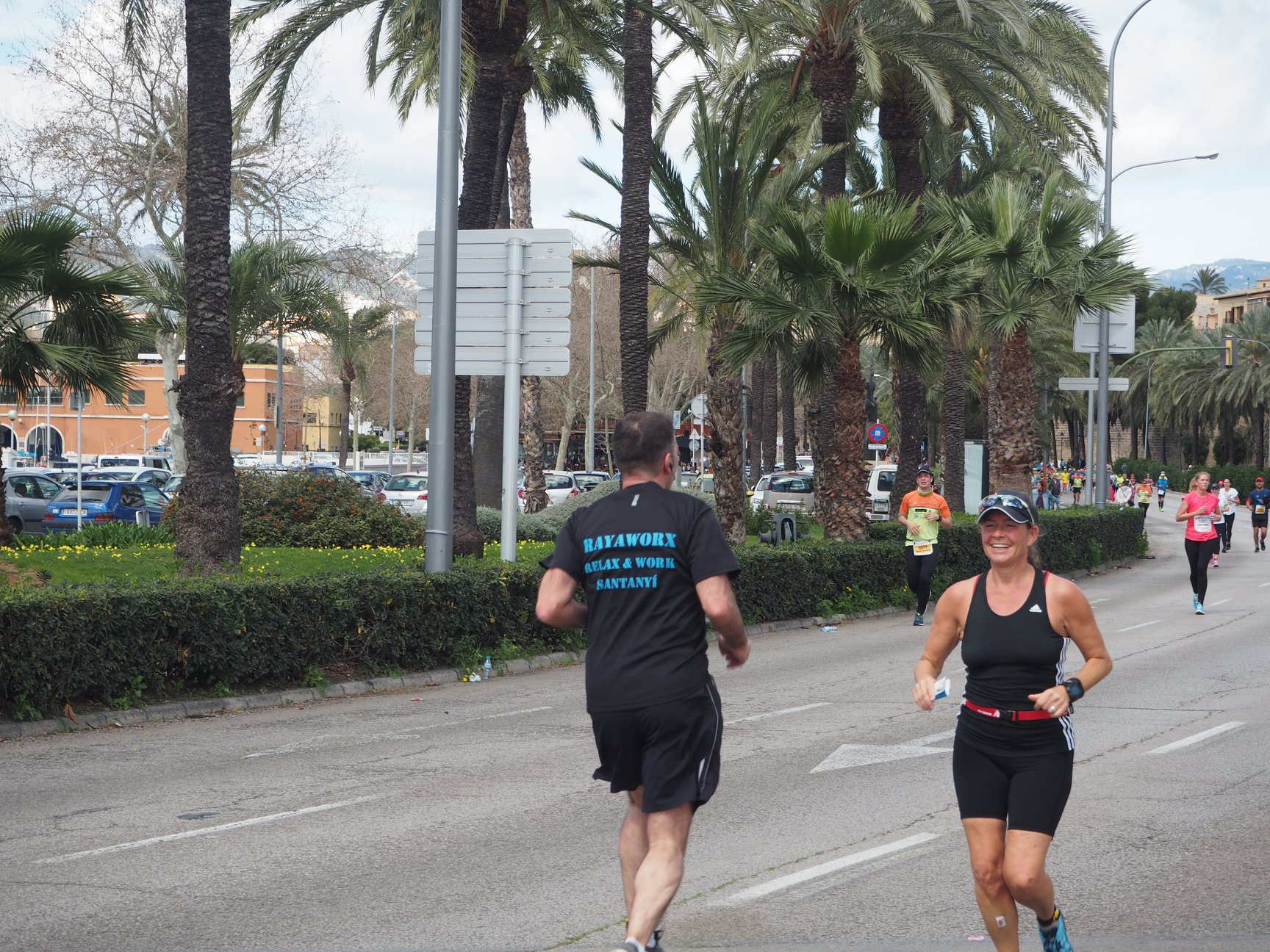 Half Marathon Palma de Mallorca: Team Rayaworx with fun