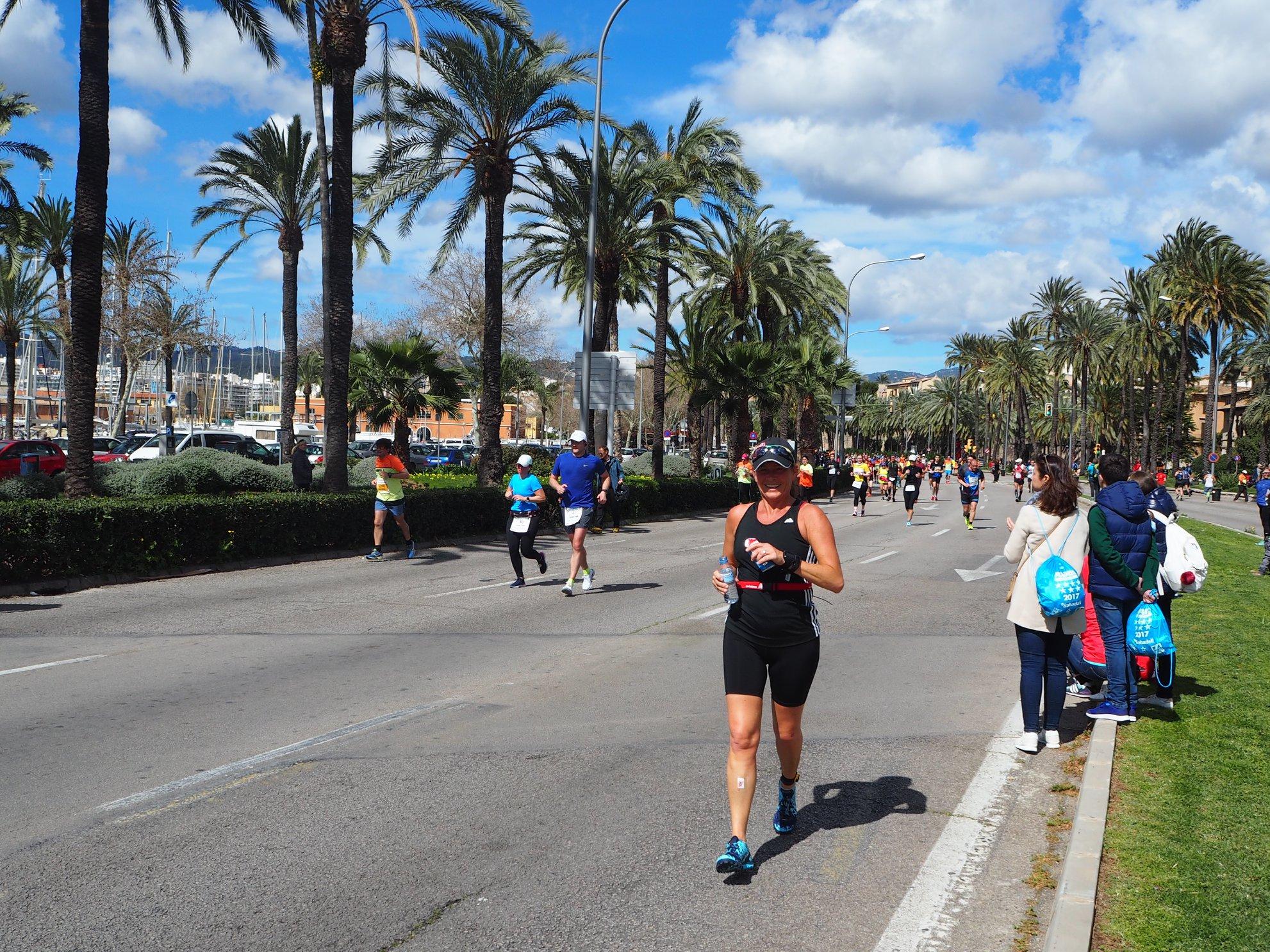 Half Marathon Palma de Mallorca: Heike Passeo Maritimo
