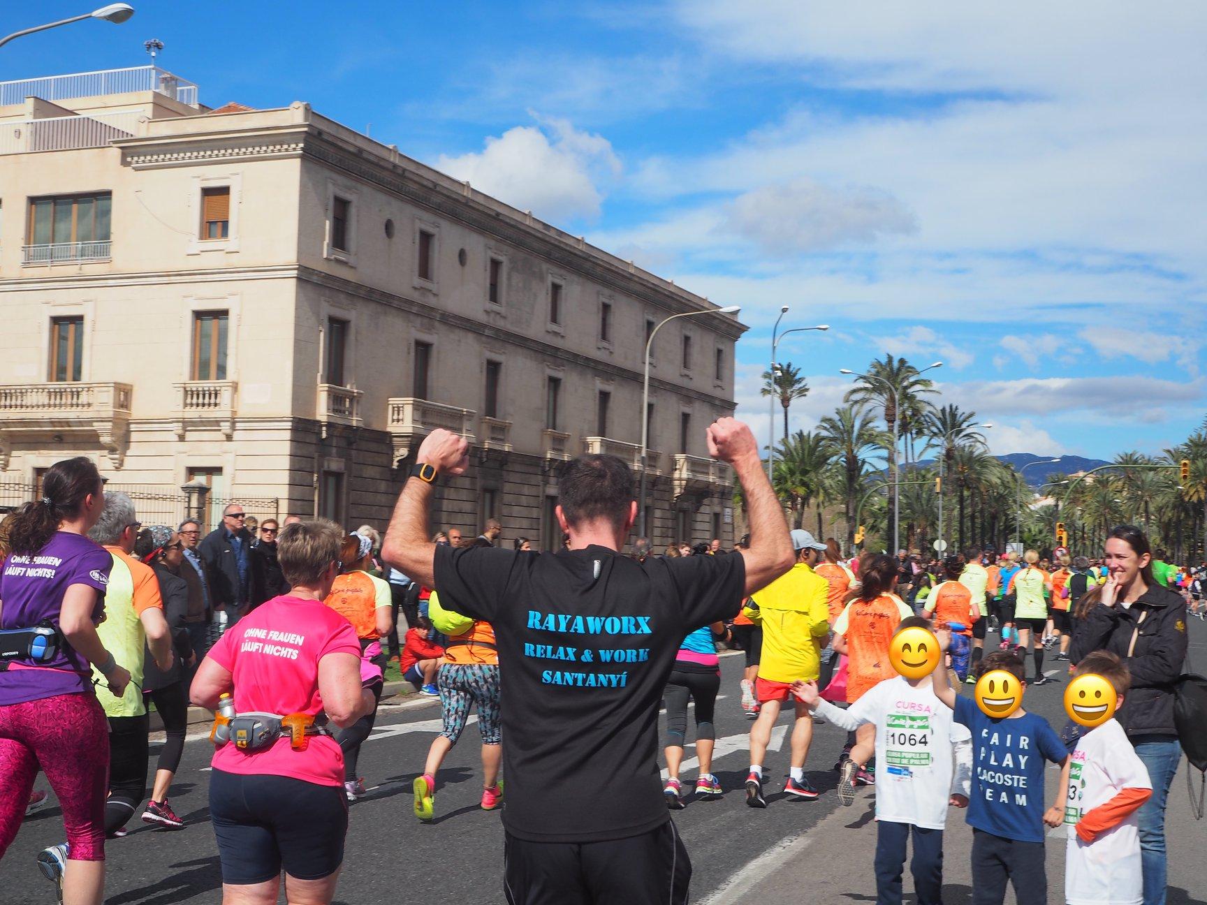 Half Marathon Palma de Mallorca: Team Rayaworx