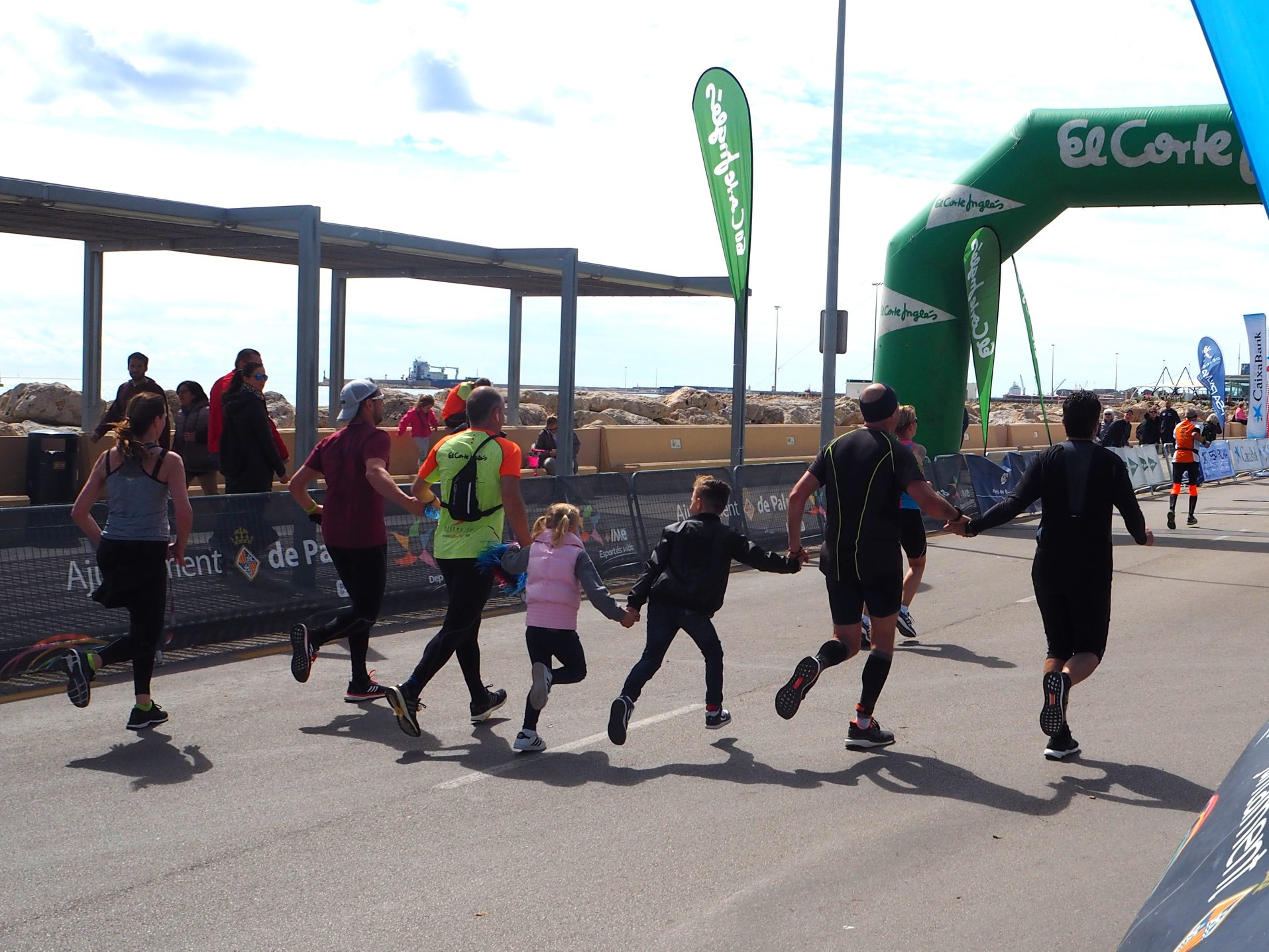 Half Marathon Palma de Mallorca: Familie