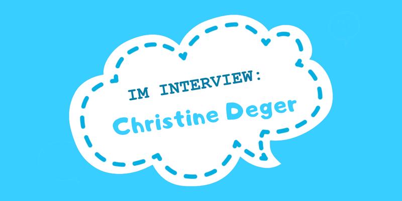 Interview Christine Deger