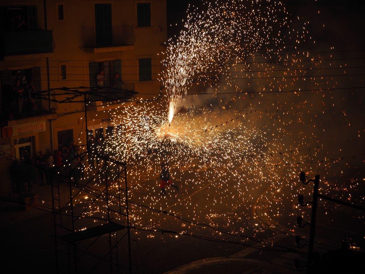 Correfoc Santanyí Mallorca