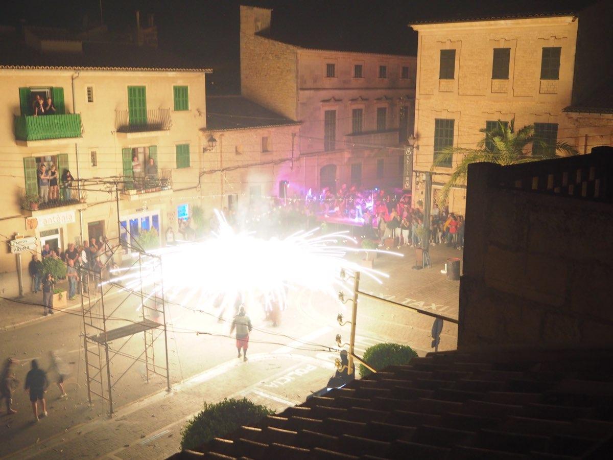 Plaza Sa Porta Murada Correfoc