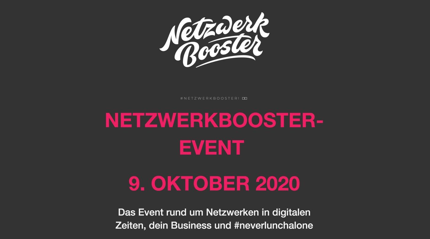 Netzwerbooster Event