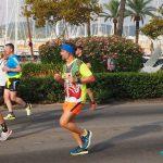 Skelett Palma Marathon Outfit