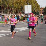 Pink mit Hut Palma Marathon