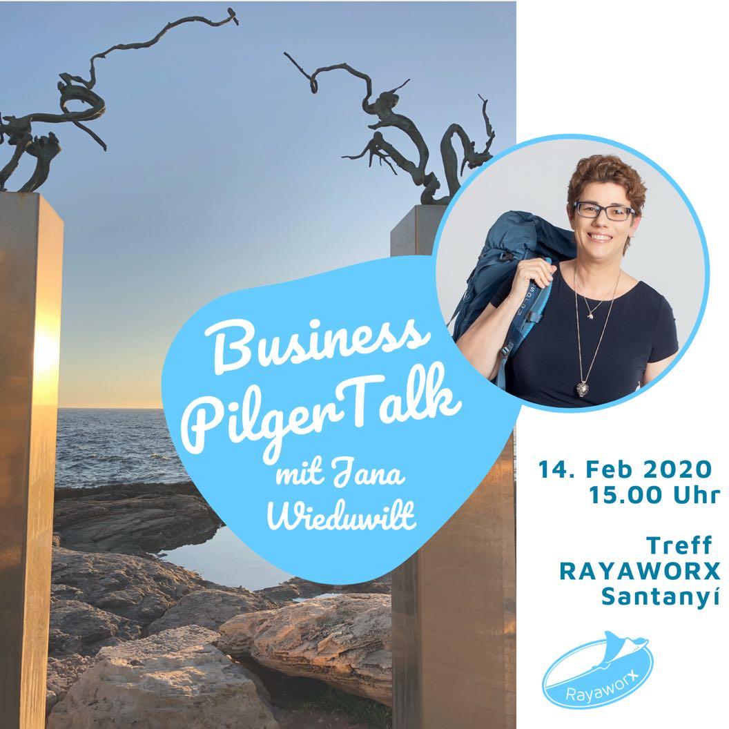 Business PilgerTalk mit Jana