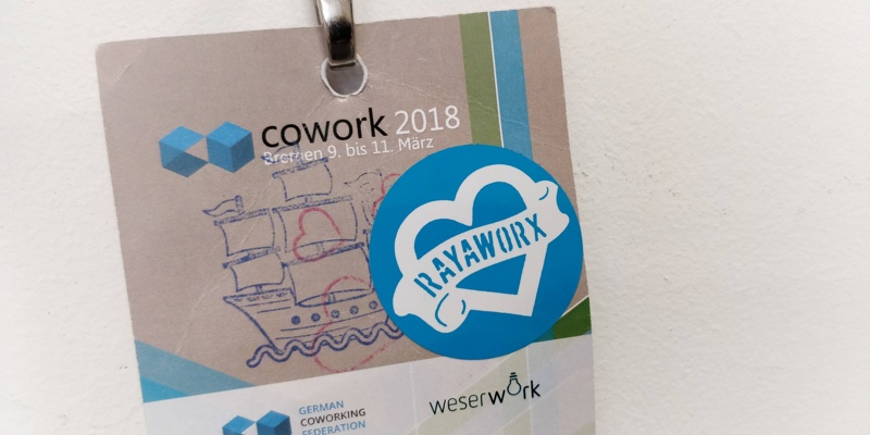 Badge Rayaworx cowork2018