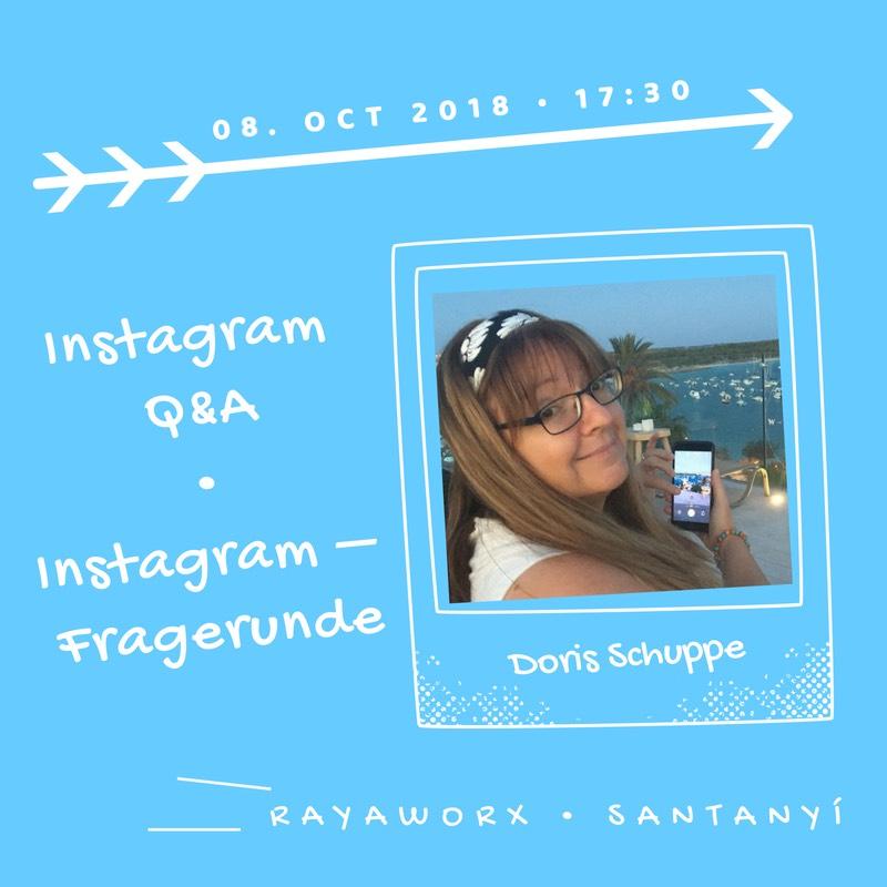 Doris Instagram Q&A Rayaworx coworkingmonday