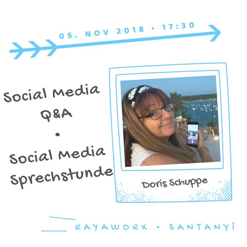 Doris Social Media Q&A Rayaworx coworkingmonday