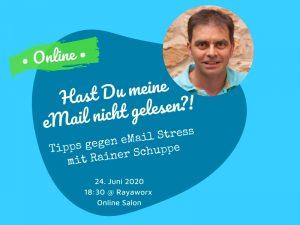 Tipps gegen eMail Stress - mit Rainer