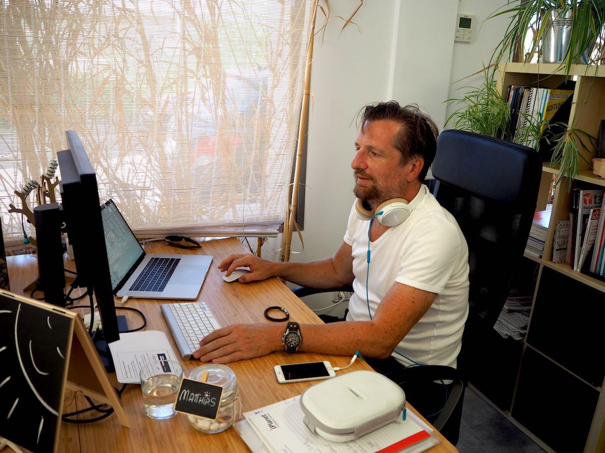 Matthias Coworker im Rayaworx