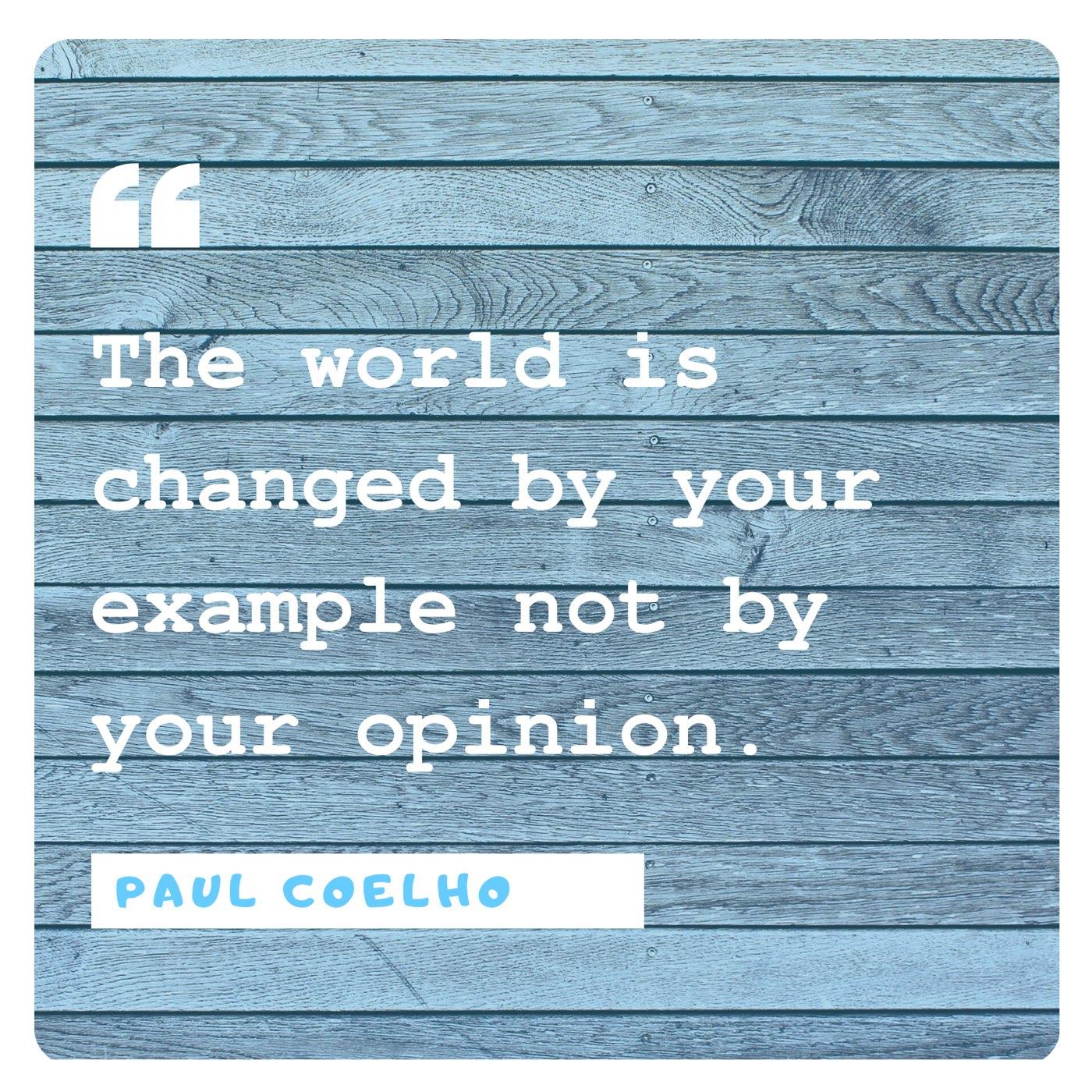 Paul Coelho: Example