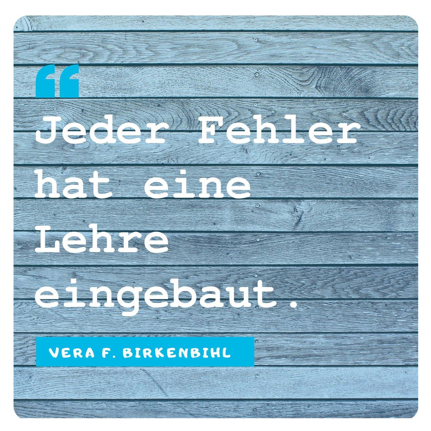 Vera F. Birkenbihl: Fehler
