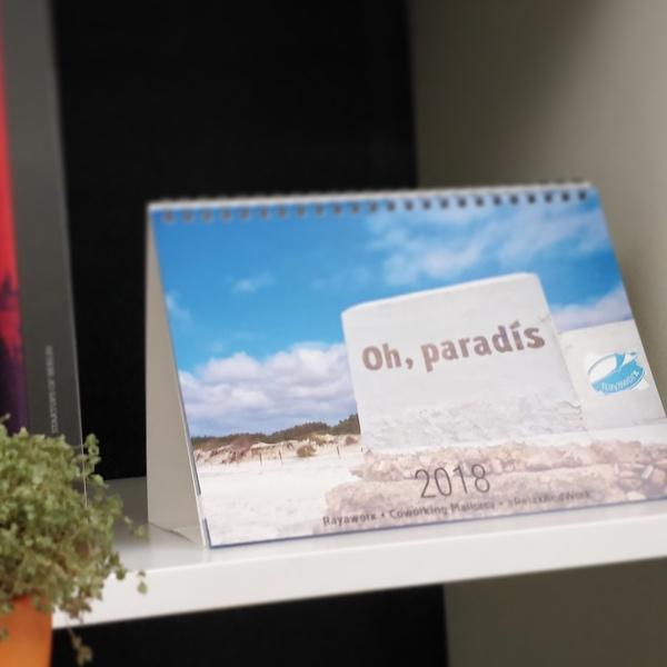 Rayaworx Kalender 2018