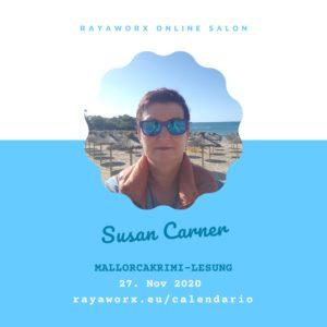 Susan Carner: Mallorcakrimi Lesung