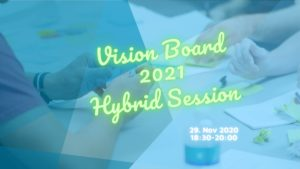 Vision Board 2021 Hybrid Session