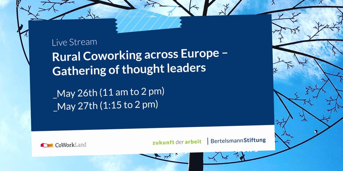 Rural Area Coworking in Europe