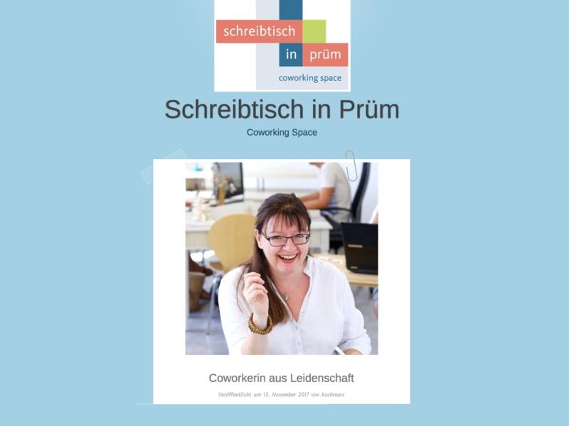 Schreibtisch in Prüm interviewt DoSchu