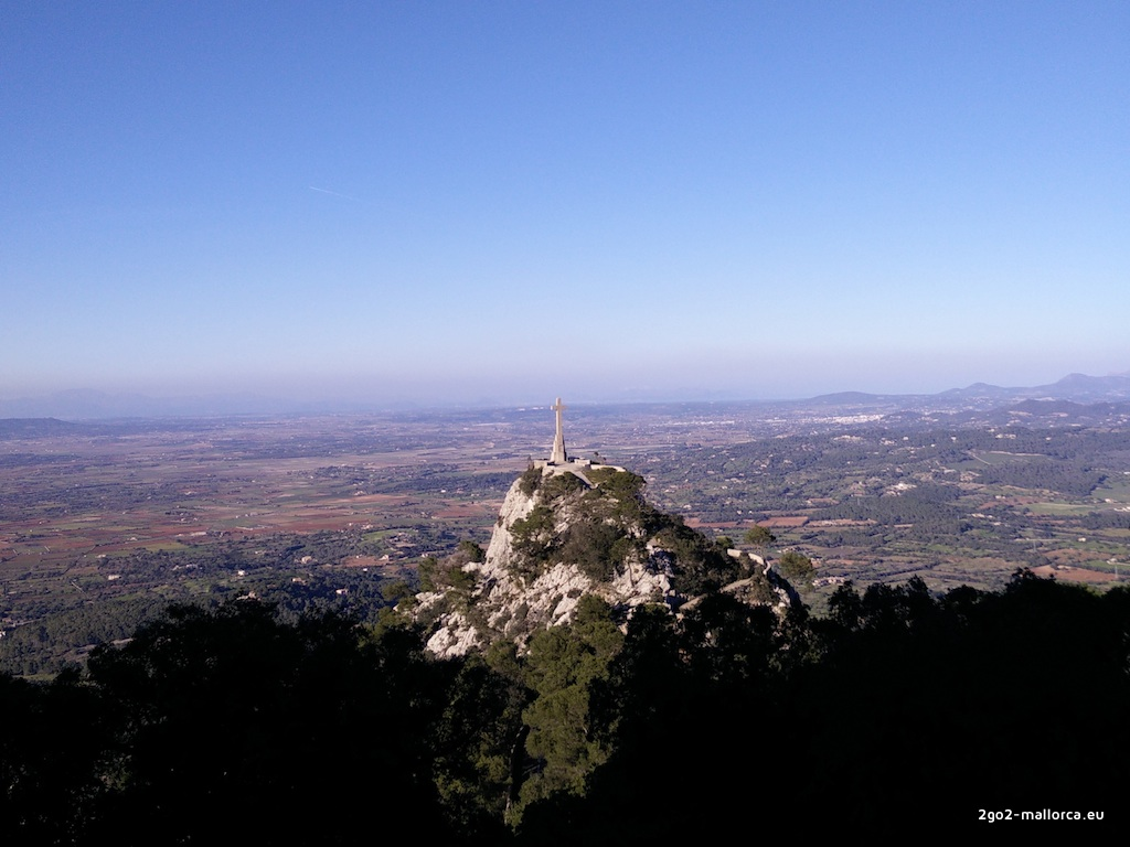 Sant Salvador Mallorca Ausblick