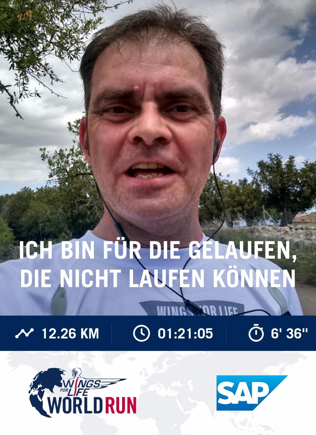 Vom Catcher Car erwischt nach 12,2 km